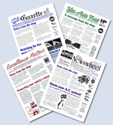 We print newsletters in Chesapeake for Hampton Roads, Virginia