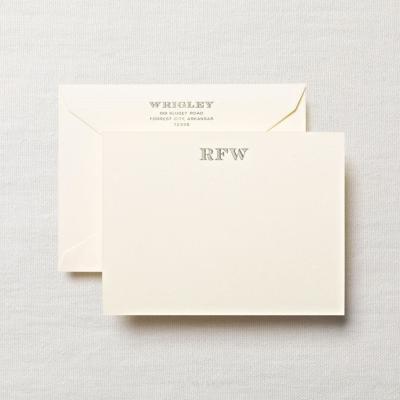 We print note cards in Chesapeake for Hampton Roads, Virginia