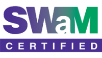 SWAM certified - Small, Women and Minority Owned Business