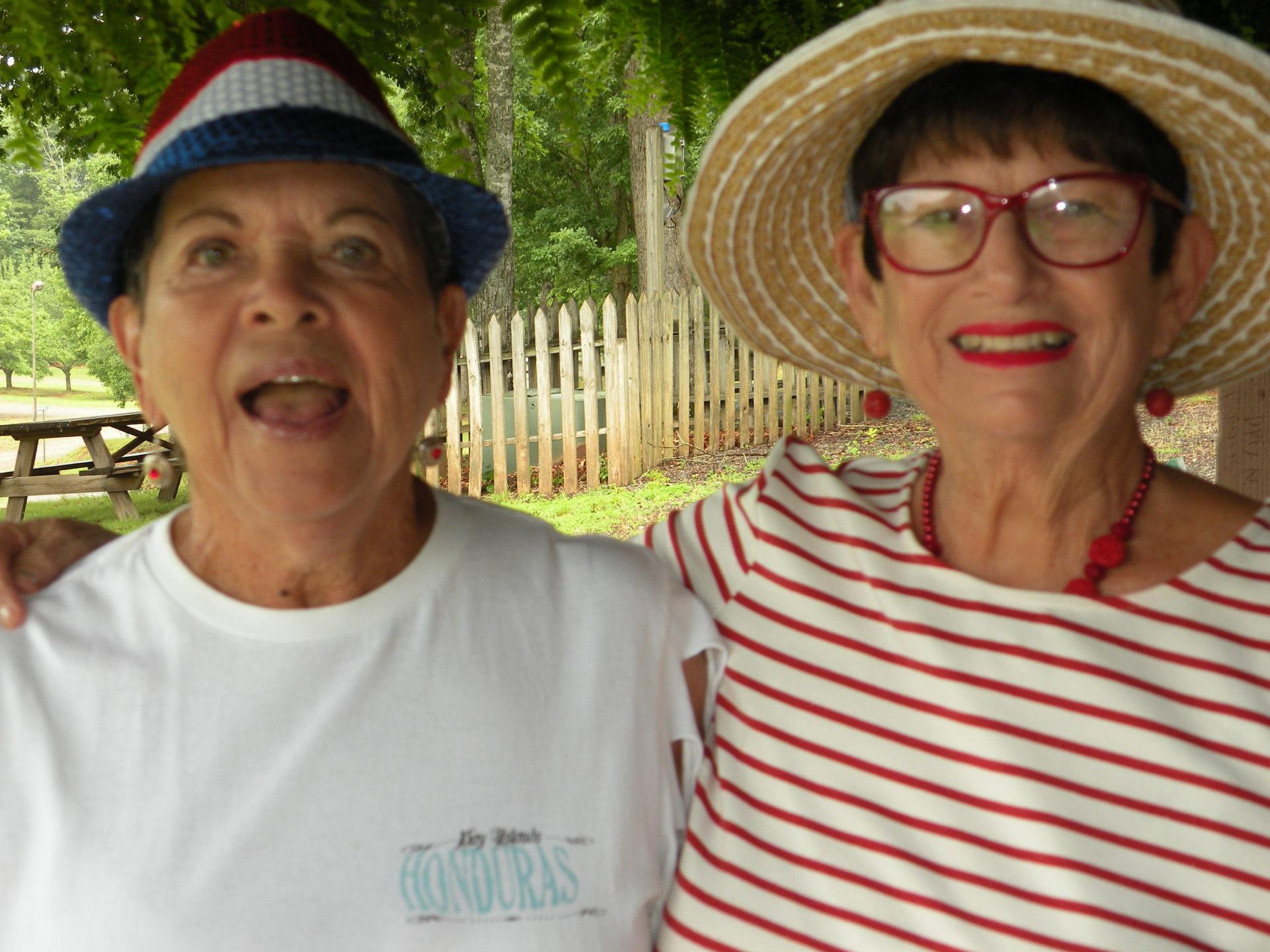 Doris Murphy & Barbara Sorbara