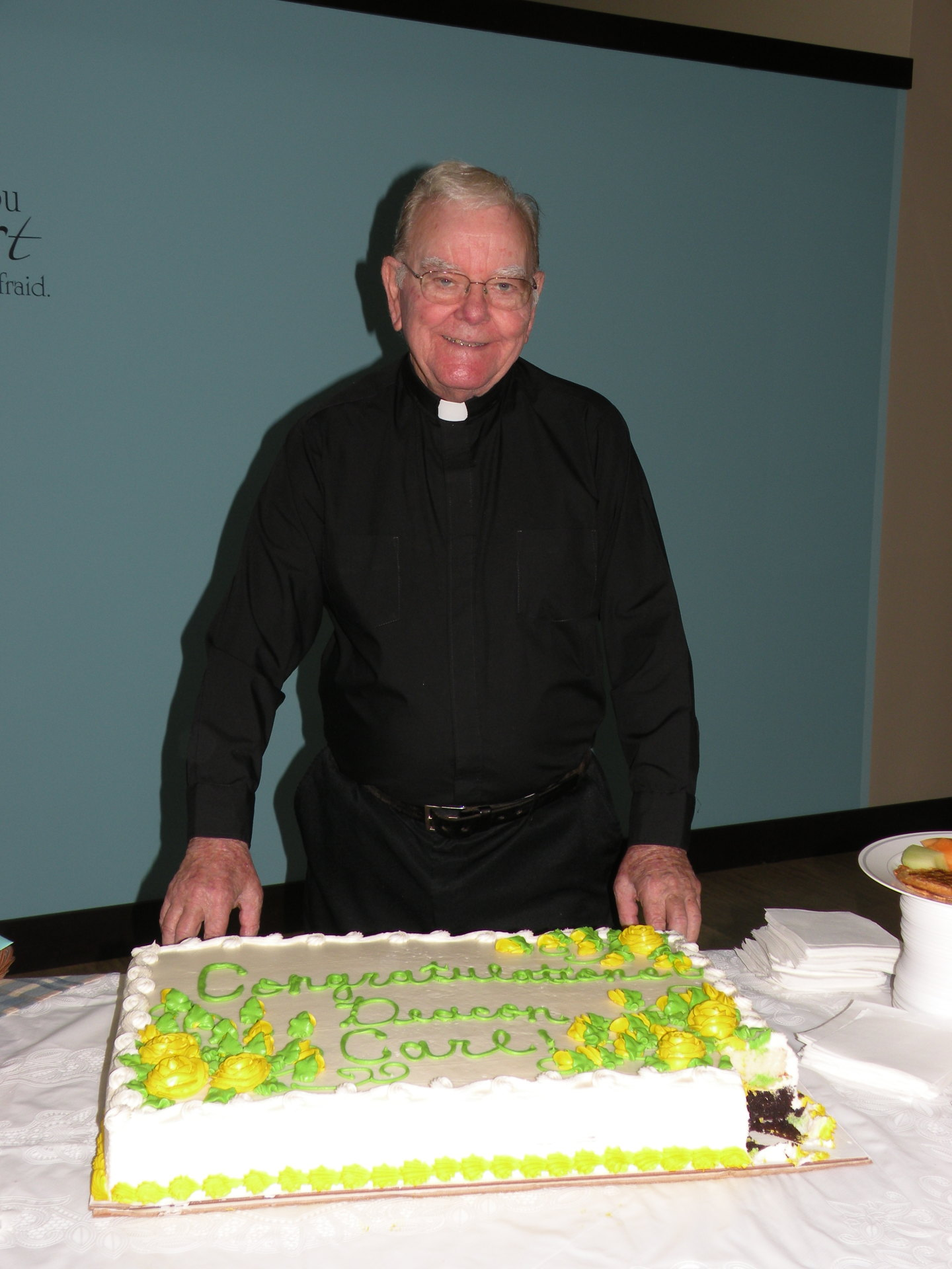 Deacon Carl celebrates 30 years since his ordination.