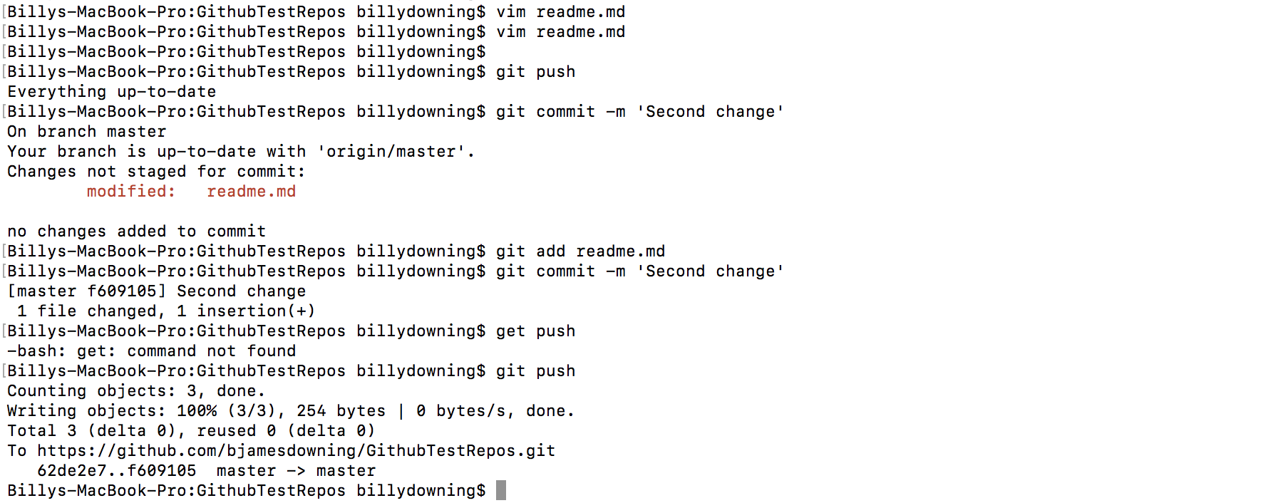Learning (trying) Git & Github