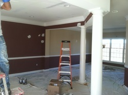 Drywall repair and house painting