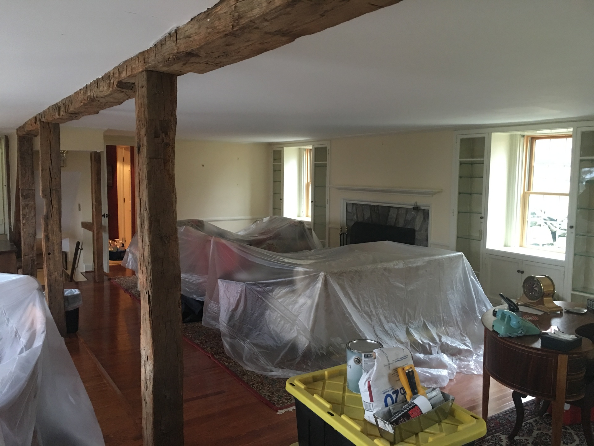 Interior House Painter - before