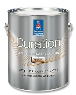 Sherwin Williams Duration Exterior Acrylic Latex