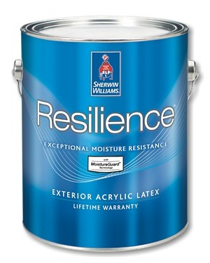 Sherwin-Williams Resilience Exterior Acrylic Latex