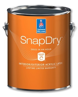 SnapDry Semi-Gloss Door & Trim Paint