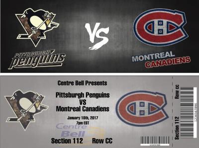 Hockey Game Ticket