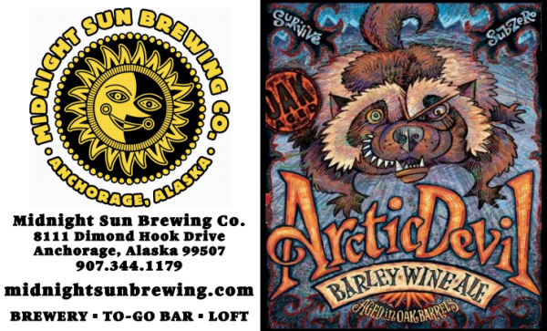 Arctic Devil Barley Wine - Midnight Sun Brewing Co.
