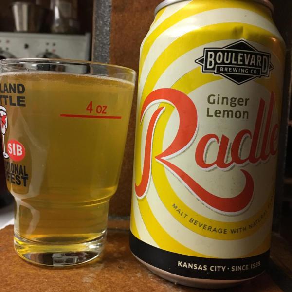 Ginger Lemon Radler - Boulevard Brewing