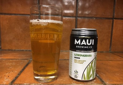 Lemongrass Saison - Maui Brewing and The Lost Abbey