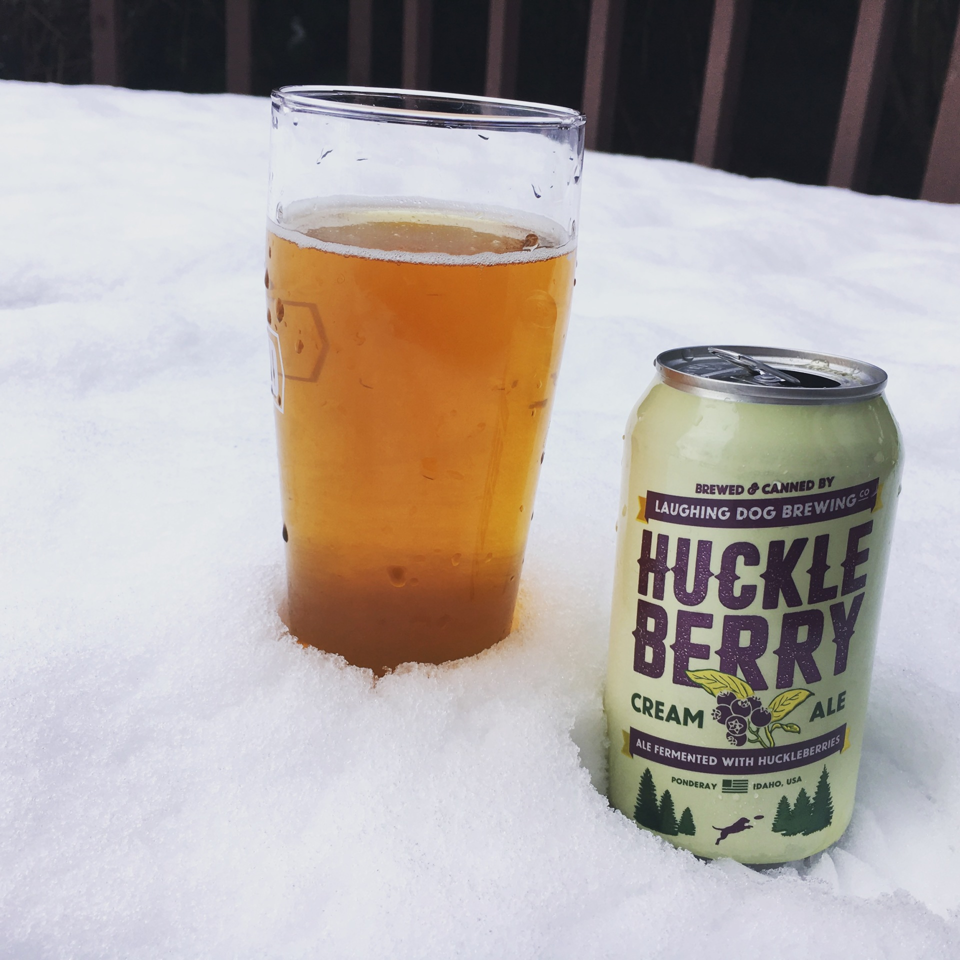 Huckleberry Cream Ale - Laughing Dog Brewing Co