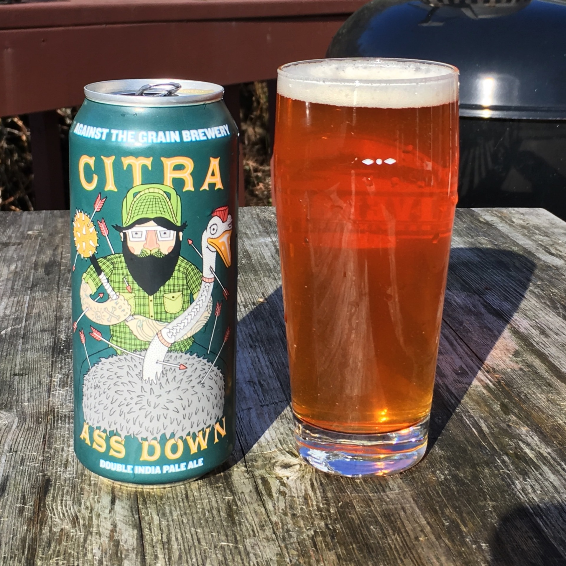 Citra Ass Down - Against the Grain