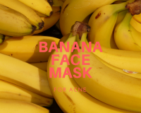 natural remedies, fight acne, banana, baking soda, diy home remedies
