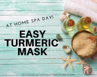 turmeric, face mask, at home spa day, honey, yogurt, milk, natural remedies, remedies,