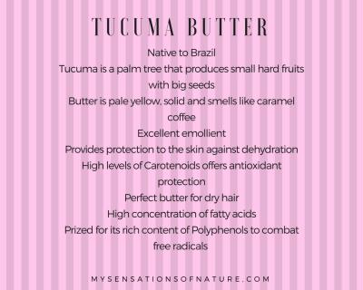 Tucuma Butter