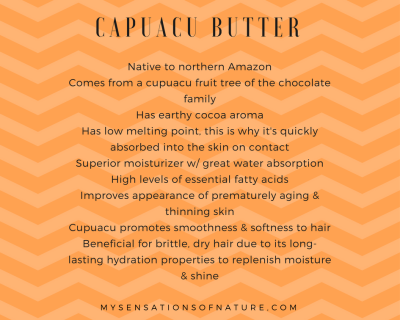 Capuacu Butter
