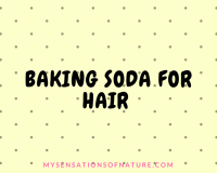 Baking soda remedies, natural remedies for hair, hair treatment, dandruff, hair growth, coconut oil, olive oil, deep hair nourishment
