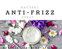 natural, anti frizz, spray, remedies, natural remedies, coconut oil