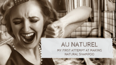 Au Naturel: My first attempt at making natural shampoo