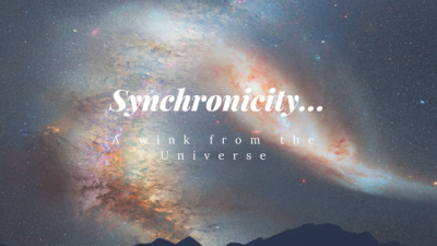 Synchronicity... A wink from the Universe