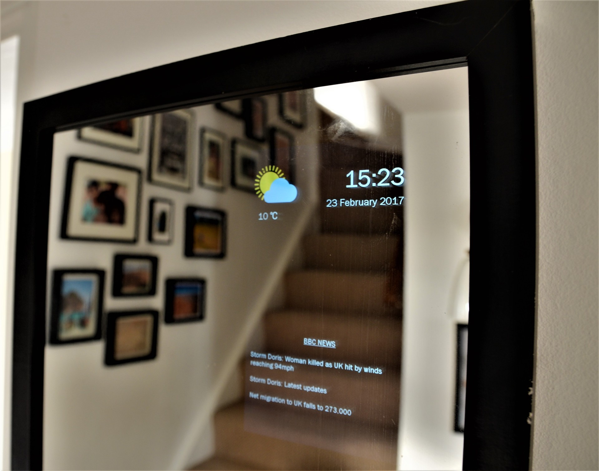 Smart Mirror For Sale Train Times Kitchen