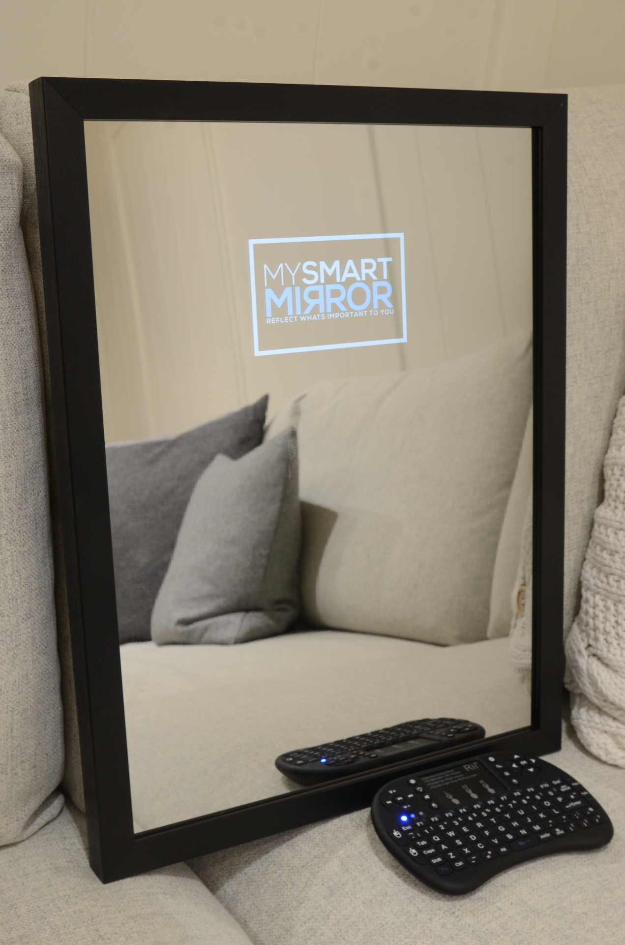 Smart Mirror Full Length Shabby Chic Frame