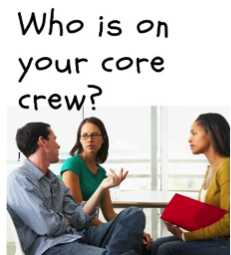 "Your 2018 goals probably depend on who is on your ""core crew"""