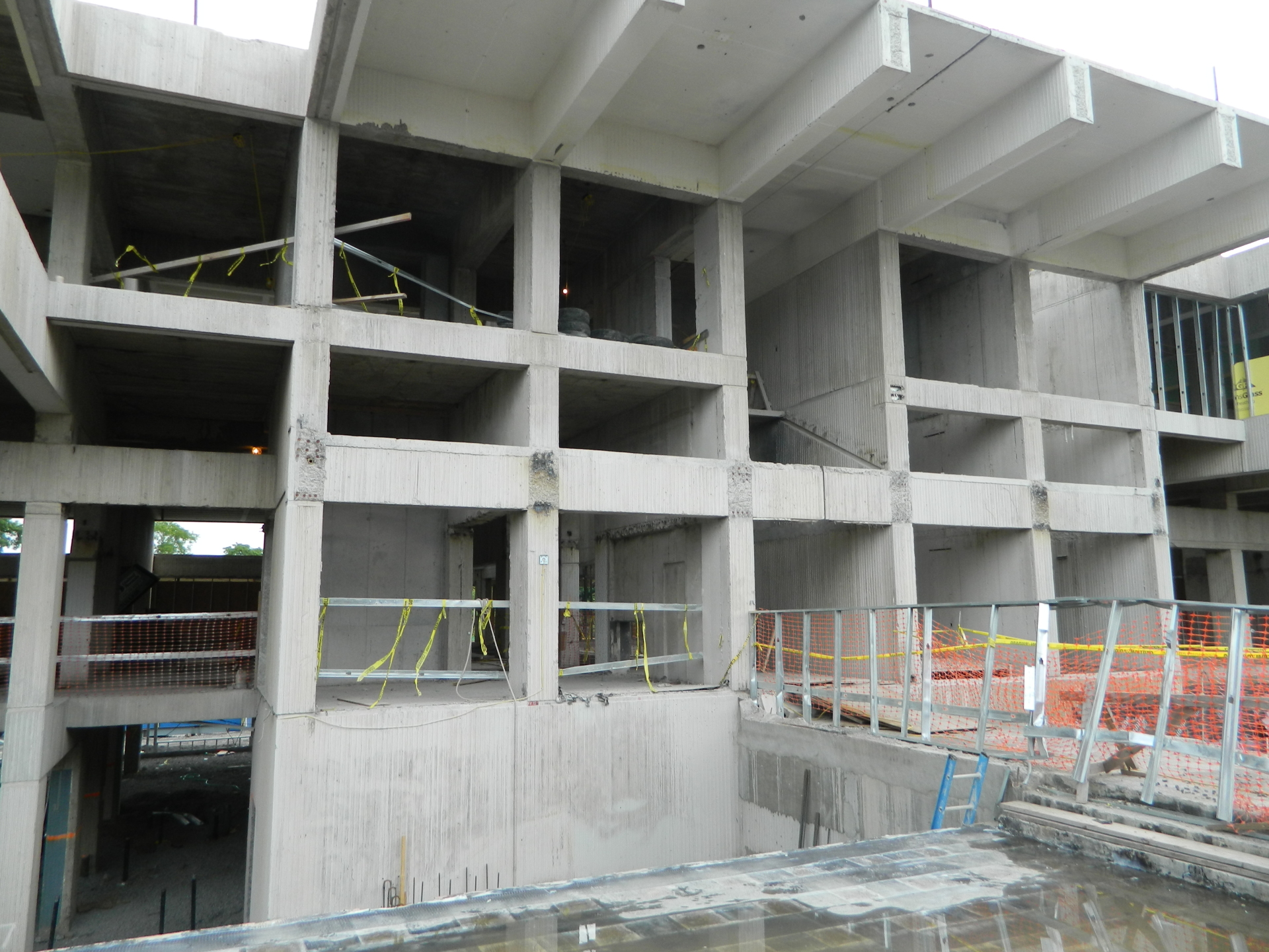SUNY New Paltz  - Modification of an existing cast-in-place concrete structure
