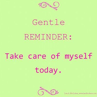 Self-Care or Self-Neglect