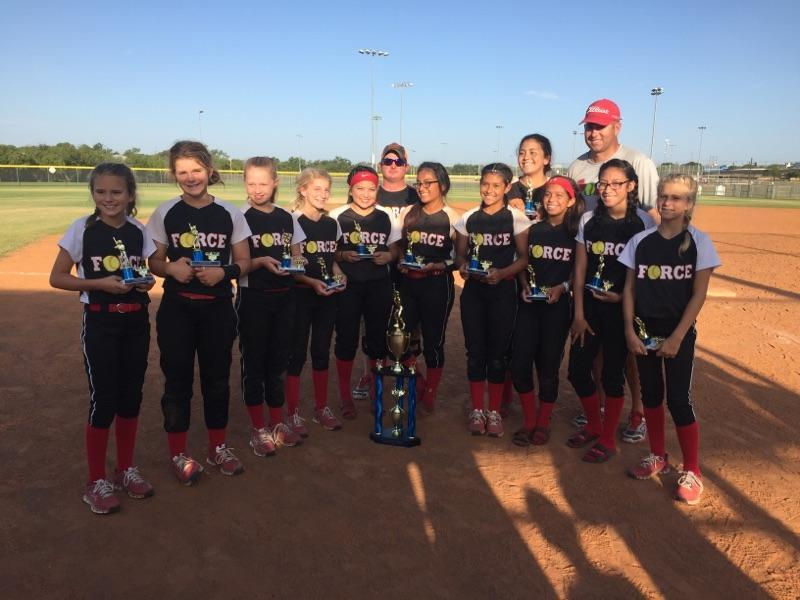 The Force 2nd Place 12U