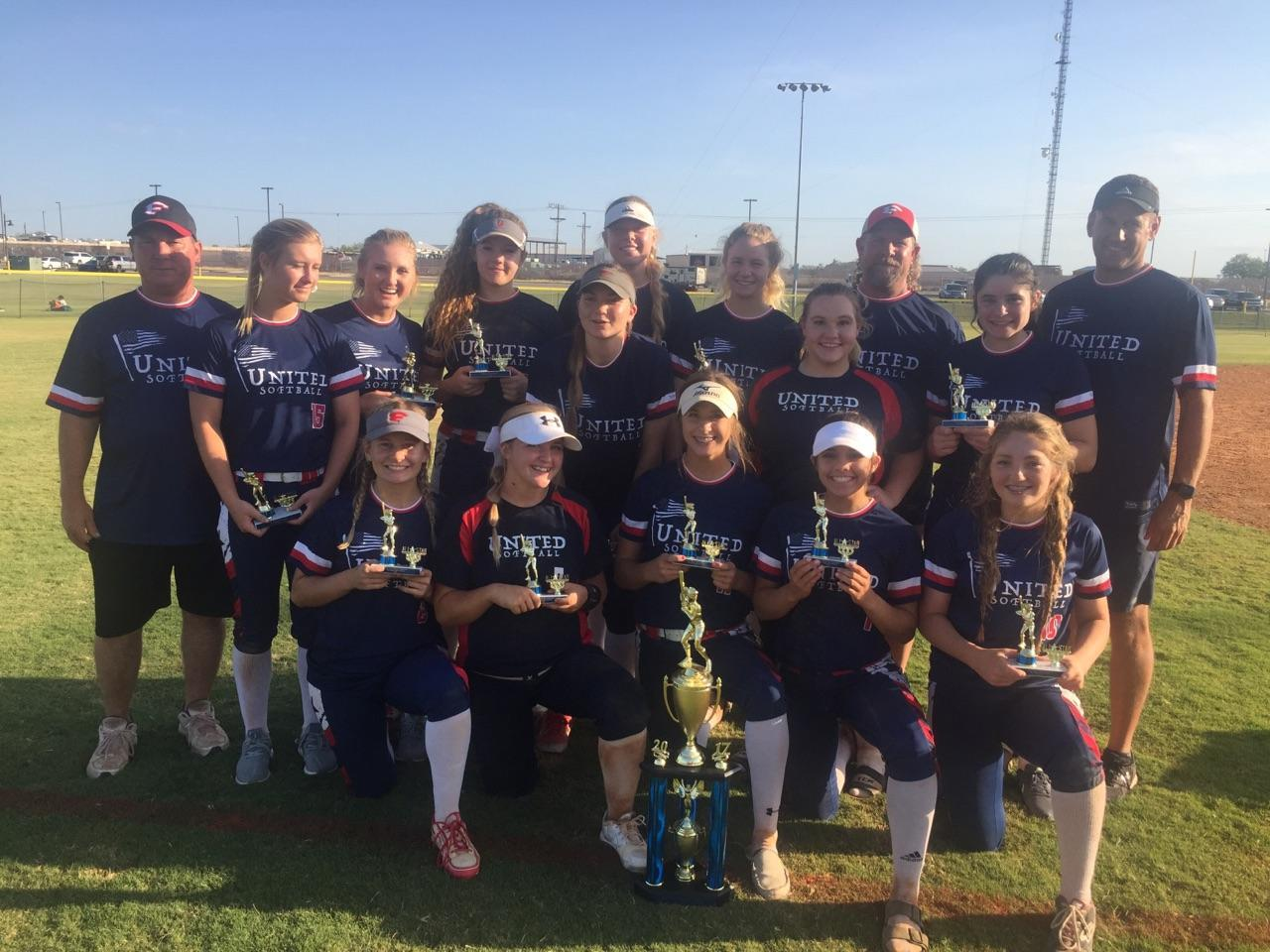United Softball 3rd Place 18U