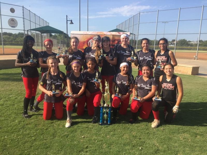 West Texas Venom 02 3rd Place 14U
