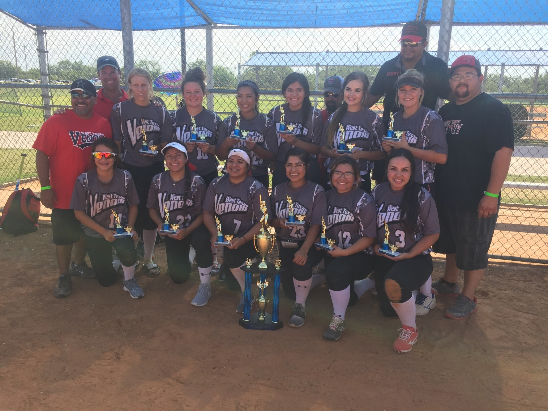 West Texas Venom 2nd Place 18U