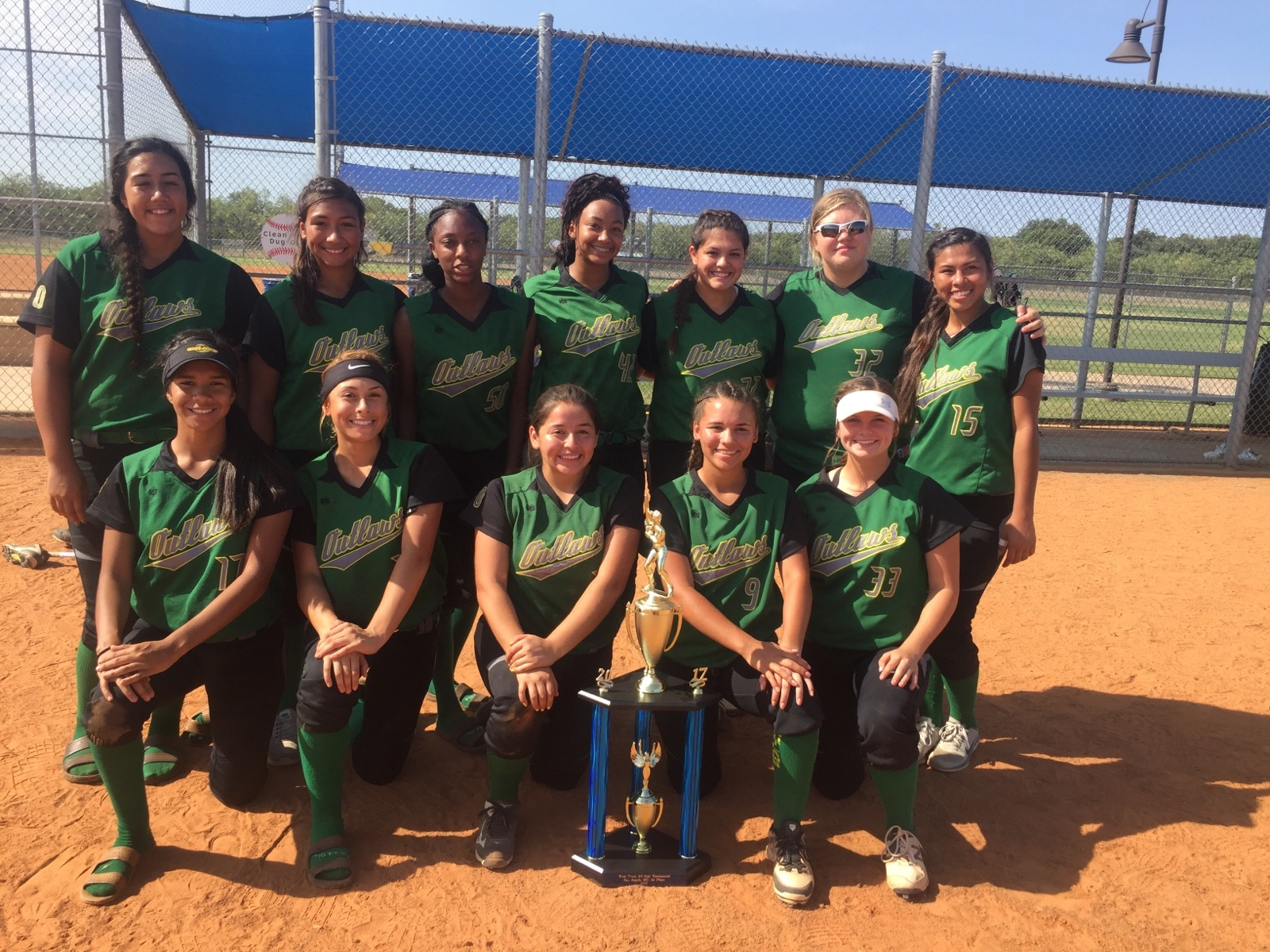 Texas Outlaws 1st Place 18U