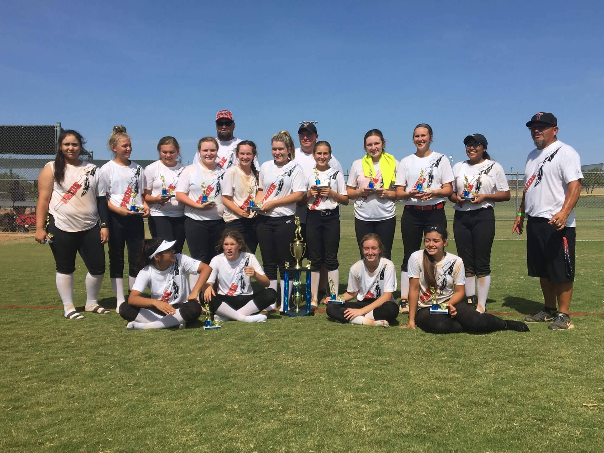 Texas Tribe 2nd Place 14U