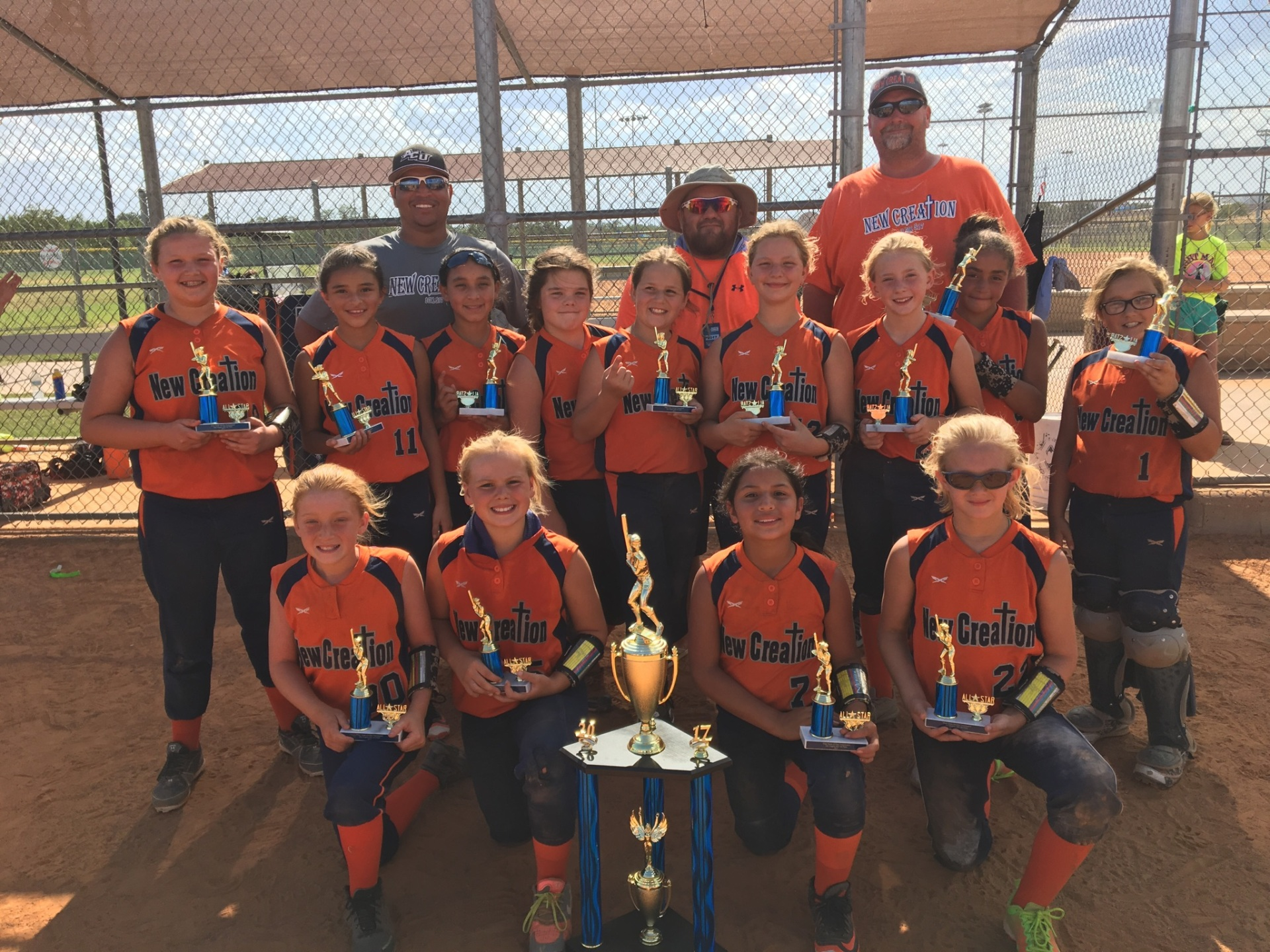 New Creation 1st Place 10U