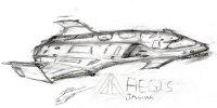 spaceship Star_Citizen sketch art scifi