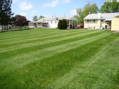 Mowing Example