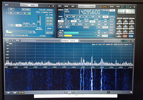 Digital listening with SDRPlay