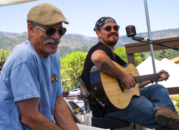 Alpine Country Blues Festival Sunday Jam