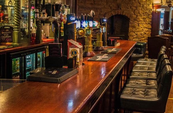 McMahons Bar Maynooth bar stools and bar