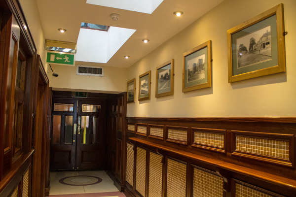 McMahons Bar Maynooth lounge room entrance hall