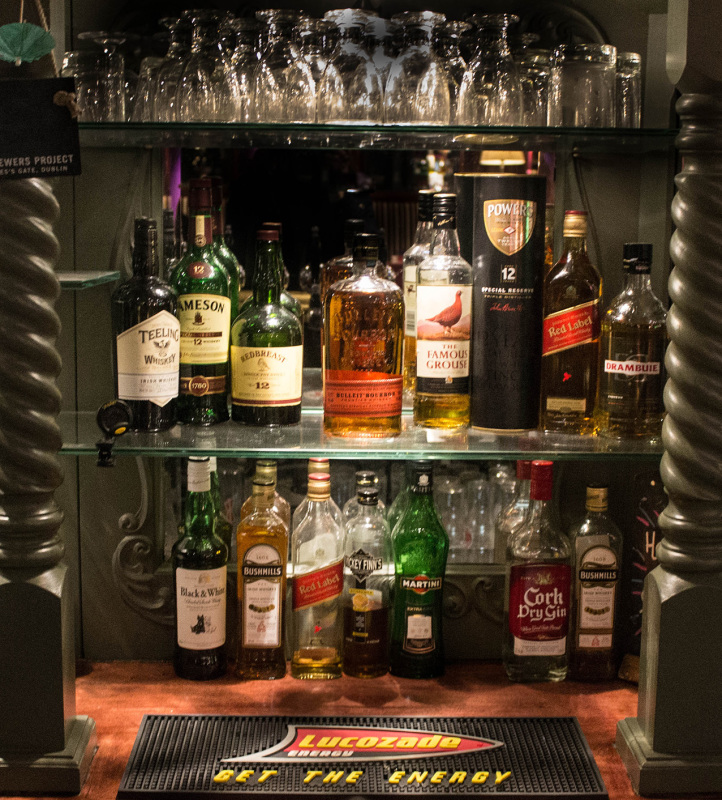 McMahons Bar Maynooth wines and spirits