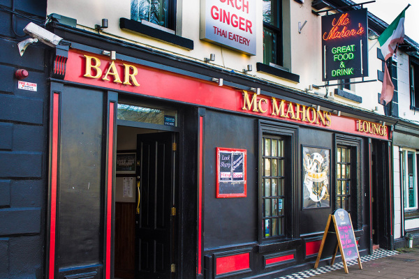 McMahons Bar Maynooth pub front view