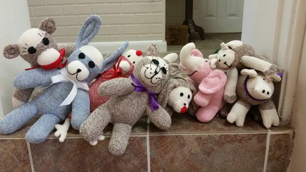 Debby Clark's Cute Sock Toys