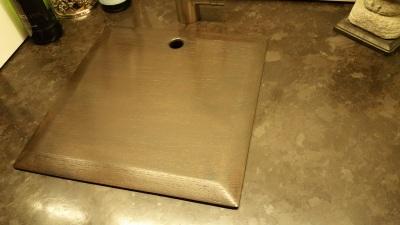 wet bar sink insert