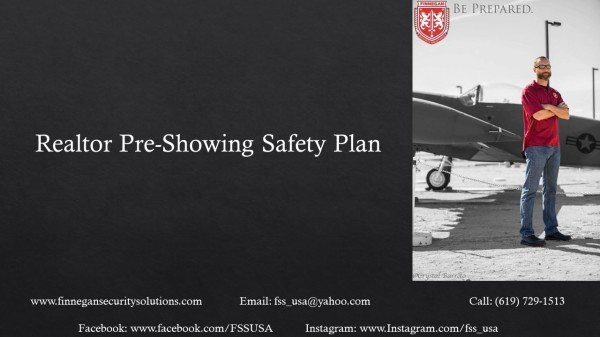 Realtor Pre-Showing Safety Plan