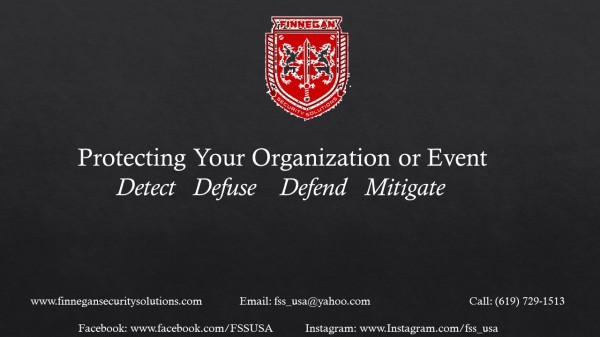 Protecting your Organization or Event