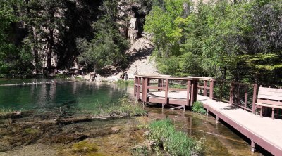 Висячее озеро в Гленвуд Каньоне